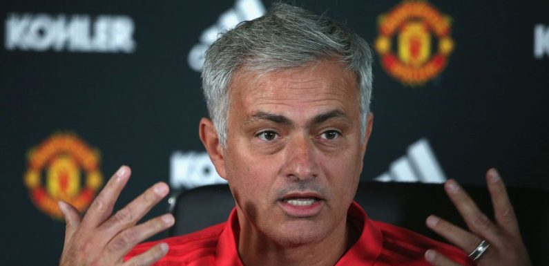 Full transcript from Jose Mourinho's press conference