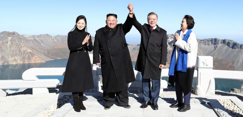 Kim Jong-un met leader at top of this mountain for a very special reason