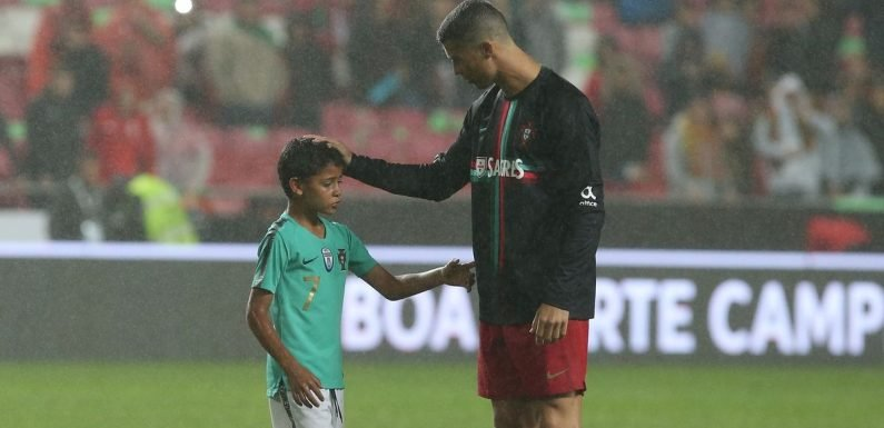 Ronaldo Jr thinks he'll be a better than dad – but the Juve star's not so sure