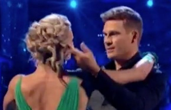 Strictly Come Dancing's Lee Ryan's 'lustful' waltz sends judges into giggles