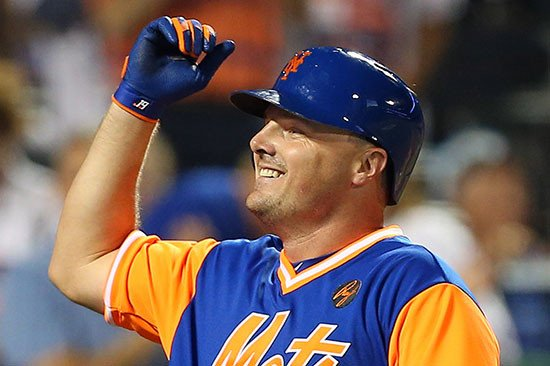 Jay Bruce is asking some stars for first-base help