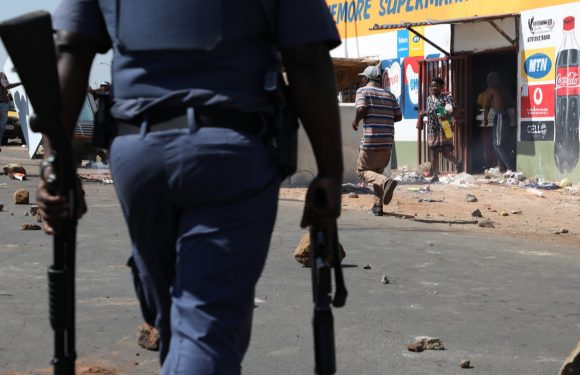 South Africa close to a 'war zone' with surge in murder rate