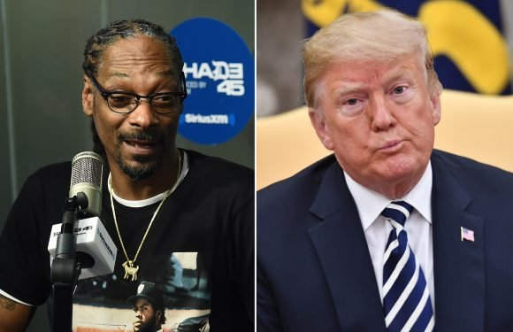 Snoop Dogg bashes Trump supporters — even Kanye West