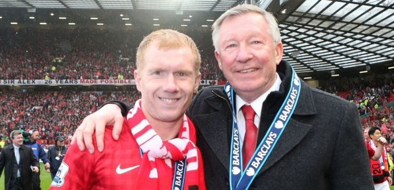 Sir Alex Ferguson delivers special message at Paul Scholes' tribute dinner