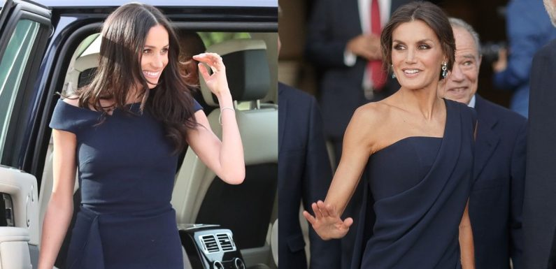 Have Meghan Markle and Queen Letizia Been Sharing Fashion Tips? All Signs Point to Yes