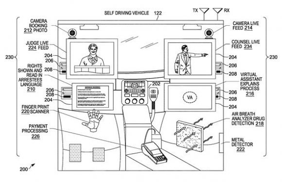 Patent suggests Motorola is creating self-driving police vehicles
