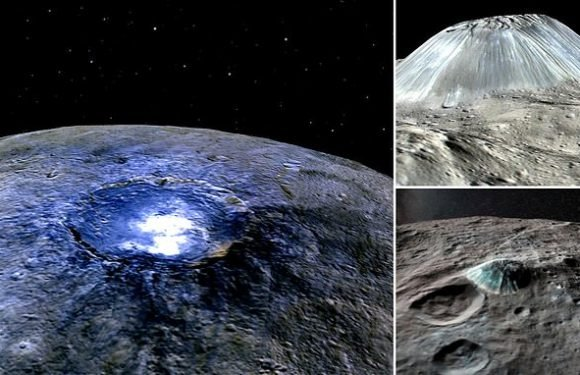 Ceres' vanishing volcanoes: Dwarf planet once had 22 'cryovolcanoes'