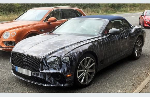 Two £180k Bentley GT Convertibles seen for first time on British roads