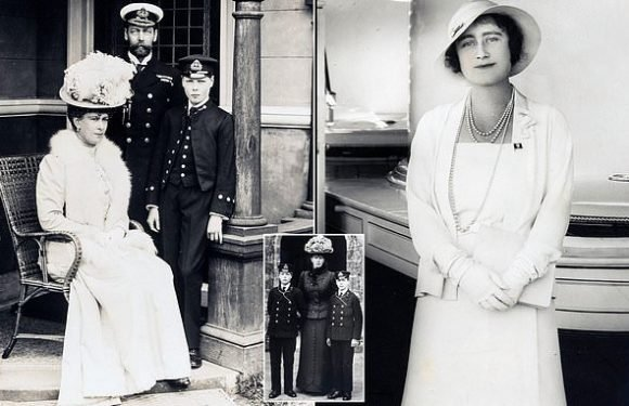Photos shows off Queen Mother's glamorous side in the Isle of Wight