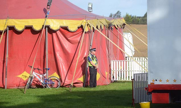 Travelling circus is closed as police probe death of man's death