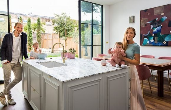How one couple transformed a 'hideous' run-down Victorian house