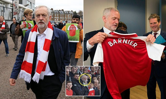 Corbyn calls for Arsenal boycott after it advertised Israeli tourism