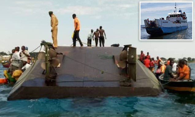 At least 200 dead as 'overcrowded ferry' capsizes in Tanzania