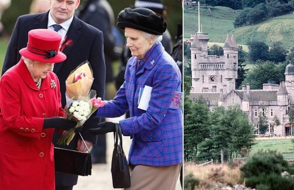 Queen's 'woman of the bedchamber' breaks her ankle at Balmoral