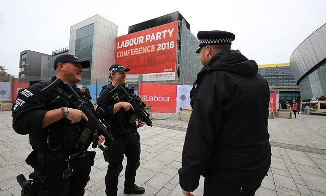 MP to get armed guard after death threats for criticising Corbyn