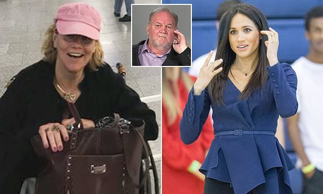 Samantha Markle in London to discuss father's health with Meghan