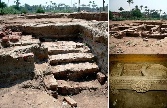 Archaeologists discover a massive ancient building in Egypt