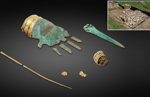 Mystery of the bronze hand found in Switzerland after 3,500 years