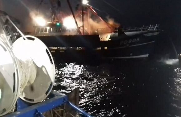 Scallop row escalates after French fishermen net  bluefin tuna off UK
