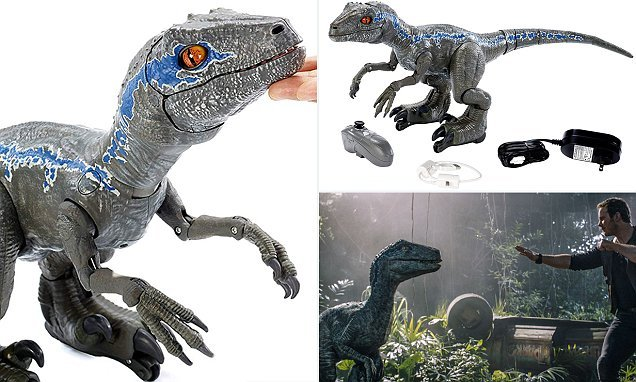 The $250 Jurassic World robot raptor that can you can try and train