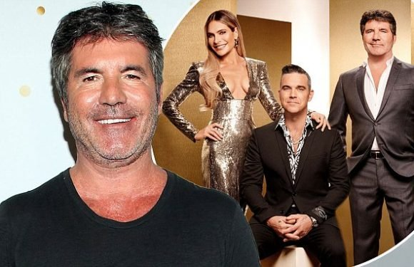 Simon Cowell reveals he's in a TV bidding war over X Factor