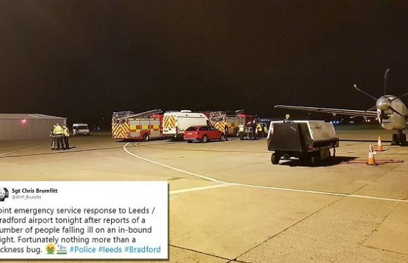 'Sickness bug' on Jet2 flight prompts emergency response at airport