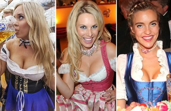 Oktoberfest women accused of wearing 'porno dresses'