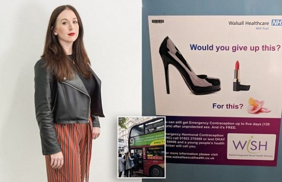 Woman blasts 'sexist' NHS after seeing ad for emergency contraception