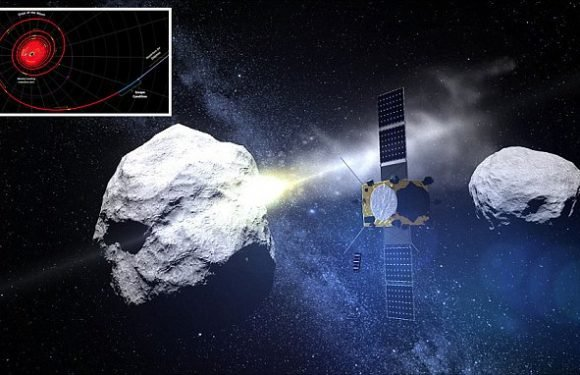Nasa's spacecraft made to deflect asteroids has entered final stages