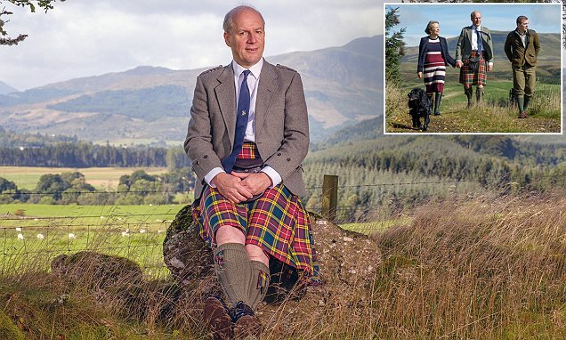 Aristocrat, 60, becomes the first chief of Scottish clan for 337 years