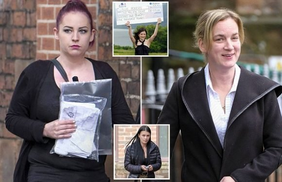 Two female thugs who attacked UK's youngest Lotto winner are jailed