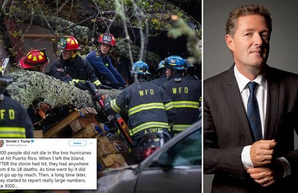 PIERS: Trump should be focused on preventing people dying in Florence