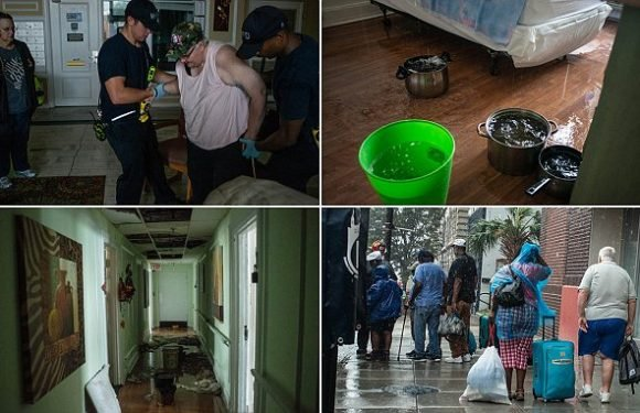 91 Senior citizens saved by two dozen firefighters in hurricane