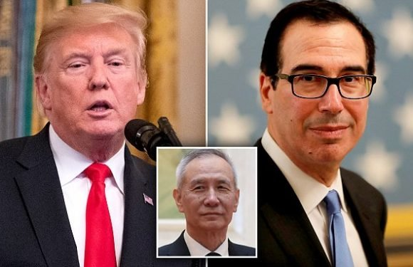 Trump going ahead with plans for new 10 percent China tariffs