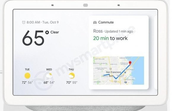 Leaks claim to show 'Google Home Hub' smart speaker with a screen