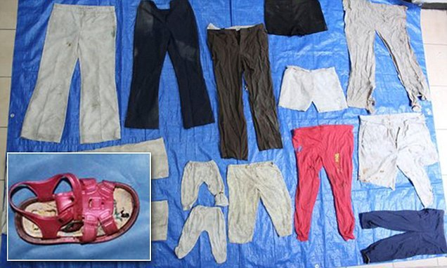 Mexican authorities find clothes for six-month-old in mass graves