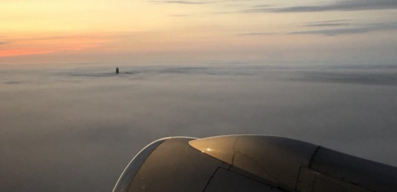 The Freedom Tower Rises Above the Clouds in a Powerful Photo Taken on the Anniversary of 9/11