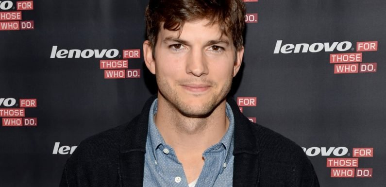 Ashton Kutcher Took a Selfie With a Fan After Accidentally Hitting Them With His Car