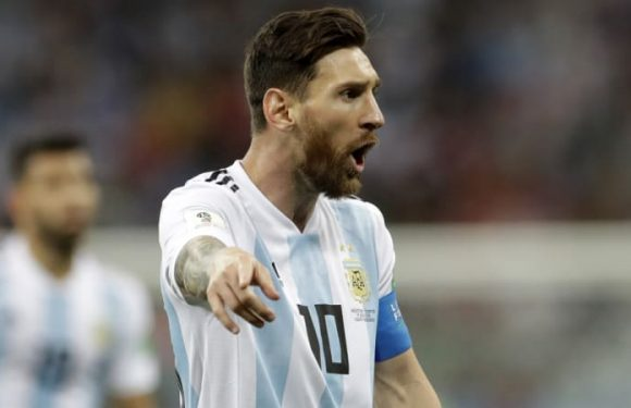 Messi misses out on shortlist for FIFA award