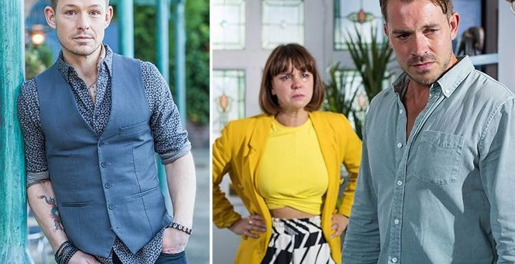 Hollyoaks star Adam Rickitt says Nancy will turn to ex-boyfriend Kyle for support after discovering Darren is cheating with Mandy