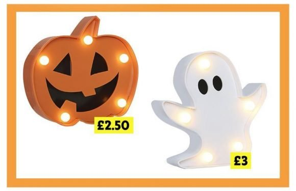 Primark is already selling light-up pumpkins and ghosts for Halloween… and prices start at just £2.50