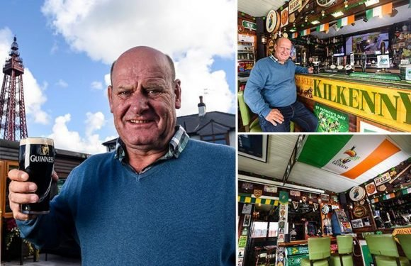 Garden shed complete with a pub, fruit machines and 25ft Blackpool tower replica named Britain's best