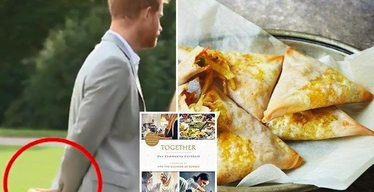 How to make two delicious dishes from Meghan Markle's Grenfell Cookbook… including the samosas Harry couldn't keep his hands off