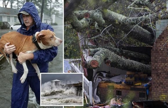 Storm Florence leaves 12 dead as flooding sweeps East Coast of US – as experts warn worst is still to come