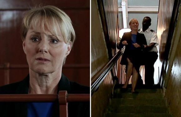 Coronation Street fans unsympathetic as Sally Metcalfe faces life in prison after firing her lawyer Paula Cunliffe for having sex with daughter Sophie