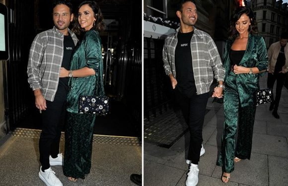 CBB winner Ryan Thomas reunites with girlfriend Lucy Mecklenburgh in Manchester for welcome home party