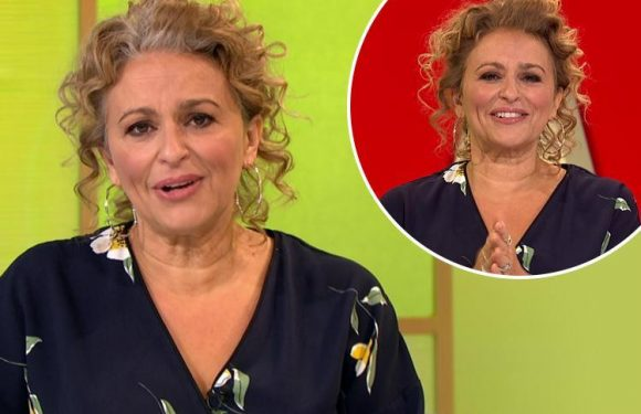 Loose Womens fans praise Nadia Sawalha for sporting grey roots as she discusses ditching the hair dye