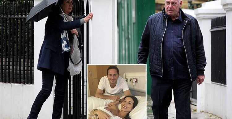 Christine Lampard's parents are first to visit baby Patricia Charlotte after she welcomes daughter with husband Frank
