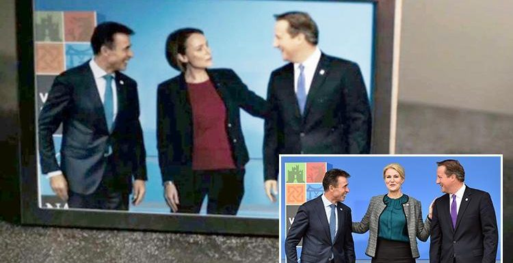 David Cameron forced to deny he posed for THAT 'Death Star' pic with Keeley Hawes in Bodyguard after set designer lets slip backstage secrets about the show