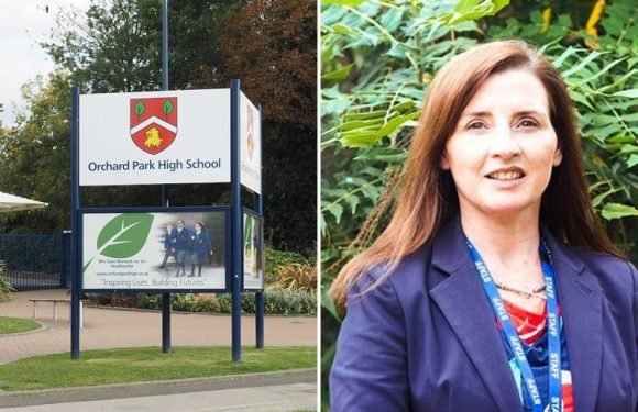 School bans pupils from talking in corridors and headteacher claims it has HALVED bad behaviour